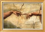 Creation of Adam, c.1510 Kunst von  Michelangelo Buonarroti