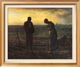 The Evening Prayer (L'Angélus), c.1859 Posters by Jean-François Millet