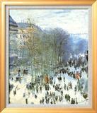 Boulevard des Capucines Kunstdrucke von Claude Monet
