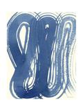 Macrame Blue V Poster von Vanna Lam