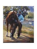 Pardners Print by Carolyne Hawley