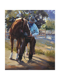 Pardners Premium Giclee Print by Carolyne Hawley