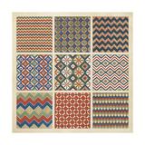 Pattern Patch I Kunstdruck von  Vision Studio