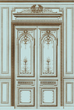 French Salon Doors I Posters by  Vision Studio