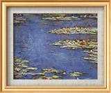 Water Lilies (Nymphéas), c.1906 Plakater af Claude Monet