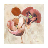 Painted Poppies Premium Giclee Print by Marietta Cohen