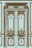 French Salon Doors II Prints by  Vision Studio