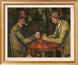 The Card Players Posters por Paul Cézanne