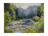 Monet's Garden I Print by Mary Jean Weber