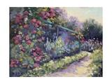 Monet's Garden VI Posters af Mary Jean Weber