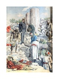 Albert Gayet Archaeological Dig Antinopolis Egypt (Jan 1904) Giclee Print