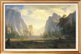 Looking Up the Yosemite Valley Prints by Albert Bierstadt