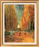 Allee des Alycamps Posters by Vincent van Gogh
