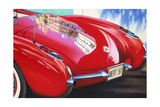 '57 Corvette Posters by Graham Reynolds