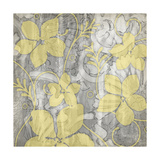 Yellow and Gray II Prints by Jennifer Goldberger