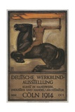 Poster for German Domestic Arts Exhibition Giclee Print