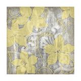 Yellow and Gray I Posters by Jennifer Goldberger