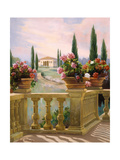 Tuscany Morning Posters by Carolyne Hawley