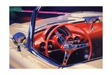 '58 Corvette Art par Graham Reynolds