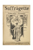 Forcible Feeding Cover of the Suffragette Impressão giclée