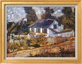 House at Auvers Art by Vincent van Gogh