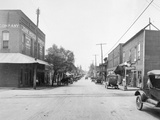 Main Street in a Small Town Photographic Print