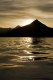 Hallo Bay at Sunset in Katmai National Park Photographic Print by Paul Souders