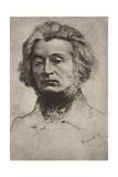 Portrait of Adam Mickiewicz Giclee Print
