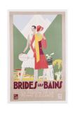 Brides Les Bains, PLM Poster Giclee Print by Leon Benigni