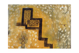 The House on the Hill Giclee Print by Paul Klee