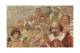 Postcard from As You Like It by William Shakespeare Giclee Print by William Shakespeare