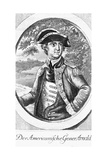 Eighteenth Century Etching of a Portrait of Benedict Arnold Giclee Print