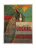 Cognac Jacquet Reproduction procédé giclée par Camille Bouchet
