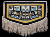 A Tlingit Chilkat Ceremonial Dance Blanket Photographic Print