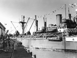 SS Dominican Victory Photographic Print