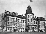 The Main Building at Howard University Photographic Print