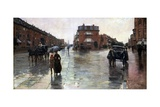 Rainy Day, Boston Giclee Print by Childe Hassam