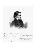 David Crockett Giclee Print by Asher Brown Durand