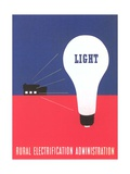 Rural Electrification Administration Poster Giclee Print