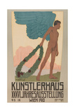 Poster for Vienna Art Exhibition, 1910 Giclee Print
