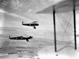The Question Mark Refueling Mid-Flight Photographic Print