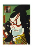 Ichikawa Danjuro V in the Role of Kagekiyo Giclee Print by  Utagawa Kunisada and U. Yoshitora