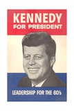 Jfk Election Poster Giclee Print