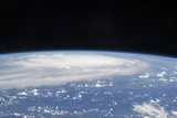 Hurricane Ike Seen from the International Space Station Photographic Print