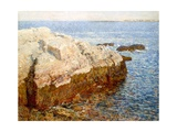 Cliff Rock Appledore (Isles of Shoals, Maine) Giclee Print by Childe Hassam