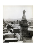 Minaret and Rooftops in Syrian Town Giclee Print