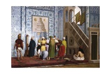 The Blue Mosque Giclee Print by Jean-Leon Gerome