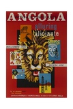 Alluring Angola Welcomes You, Tourism Office Travel Poster Giclée-Druck