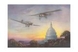 Airplanes Giclee Print