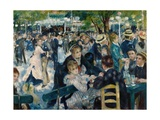 Dance at Le Moulin De La Galette Giclee Print by Pierre-Auguste Renoir